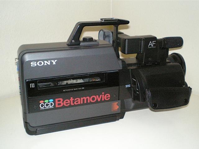 Sony Betamovie Camcorder Model Bmc 220